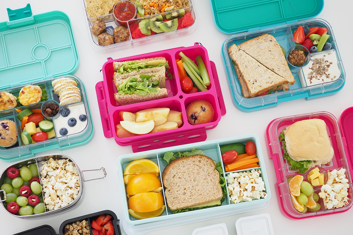 Healthy lunchbox ideas. - More Smiles